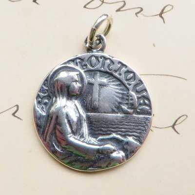 St Monica in Prayer Medal