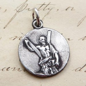 Sterling Silver St Andrew Medal