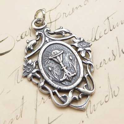 First Holy Communion Boy Medal