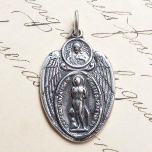 St Sebastian Scapular Medal