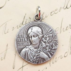Lily Among Lilies Virgin Mary Medal