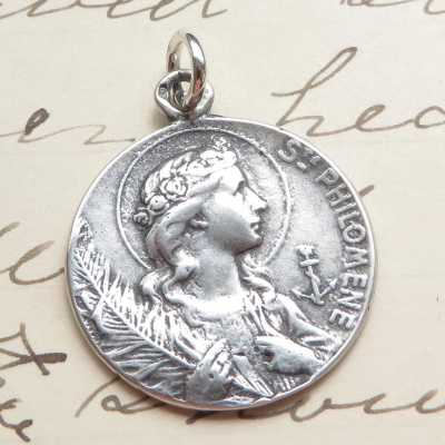 St Philomena Medal