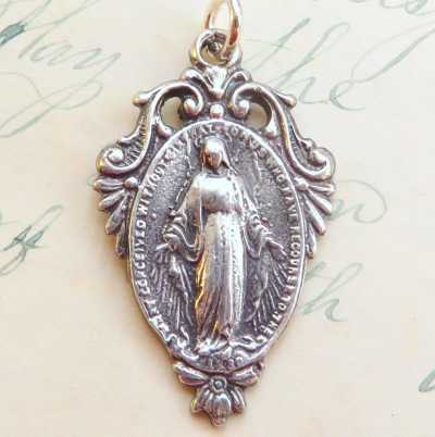 Miraculous Medal and Virgin Mary Medal