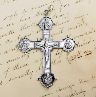 Four Evangelists Crucifix