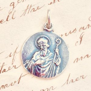 Sterling Silver St Arnold Medal