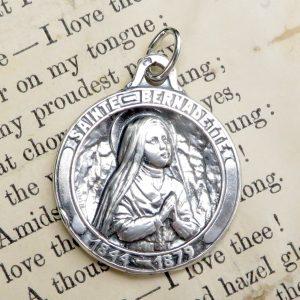 St Bernadette Medal