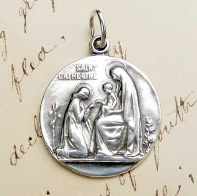 St Catherine Of Siena Medal