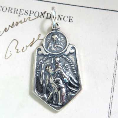 St Christopher Scapular Medal