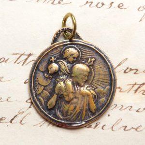 Bronze St Christopher Medal