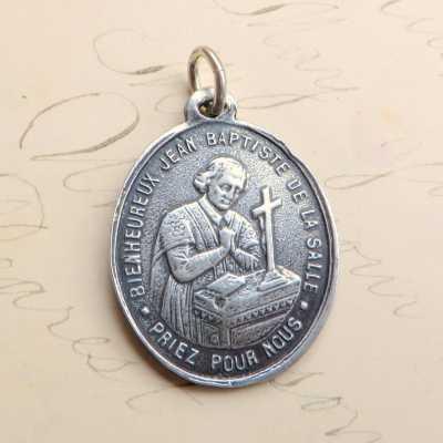 St Jean Baptiste De La Salle Medal