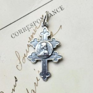 St Joan Of Arc Cross Of Lorraine Medal