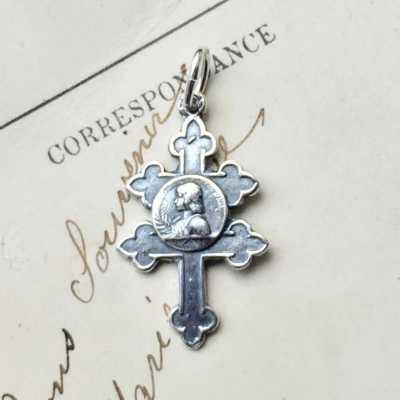 St Joan Of Arc Cross Of Lorraine Medal