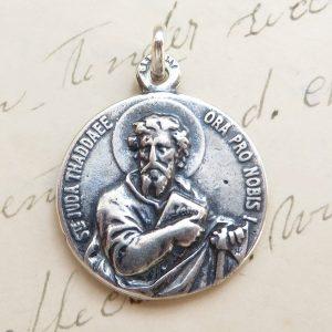 Large St Jude Thaddeus Medal