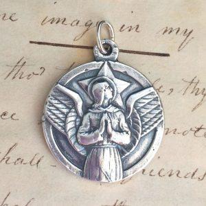 Large St Michael The Archangel Medal