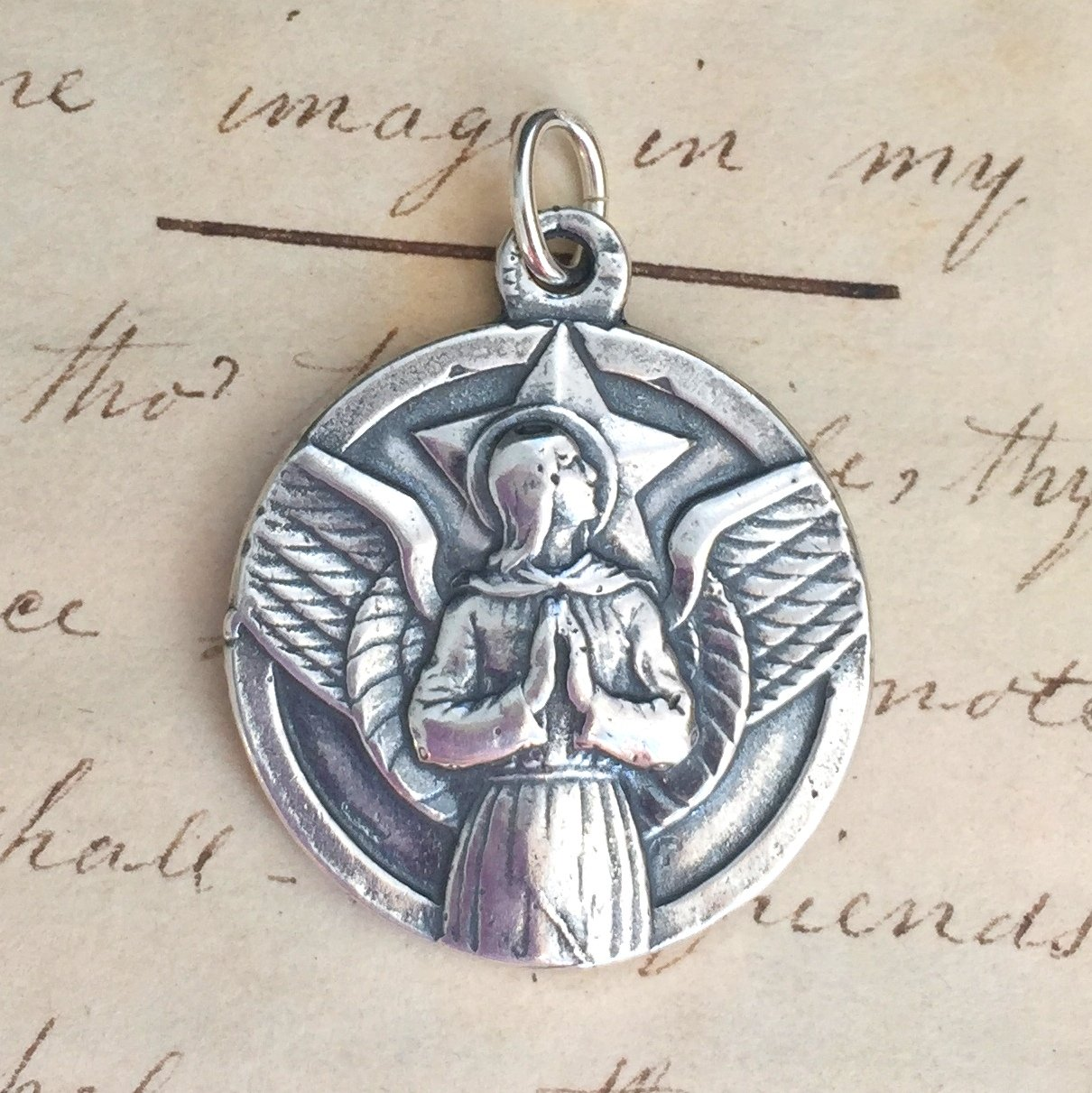 Large St Michael The Archangel Medal
