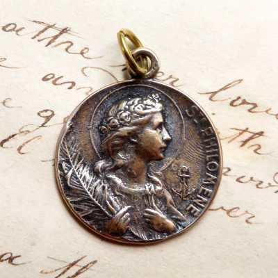 Bronze St Philomena Medal