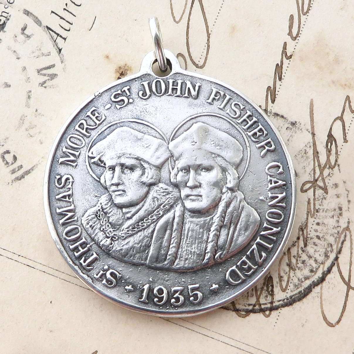 The Patron Saints Medal Saint Francesca from Rome Medal
