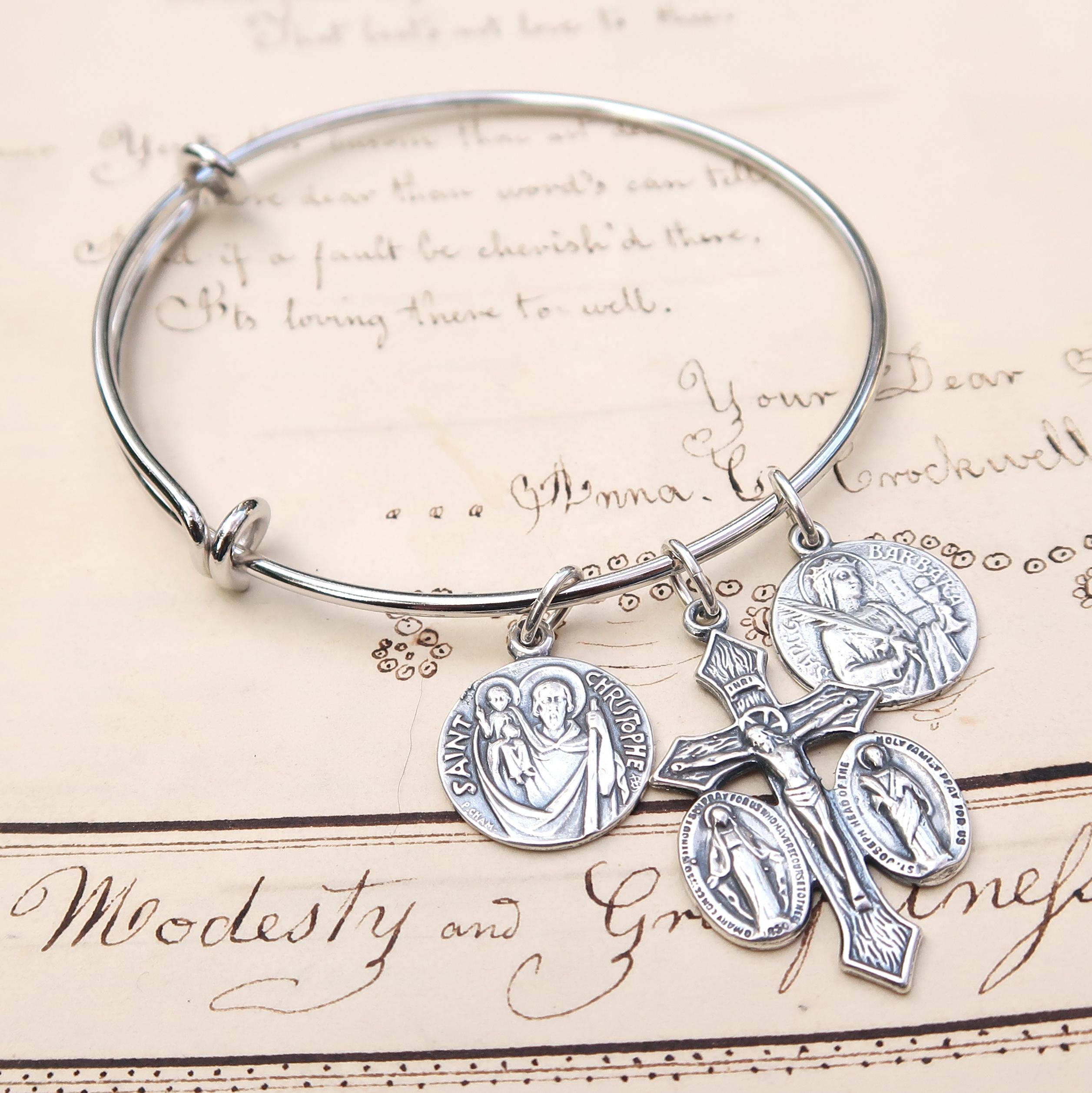 Silver Plated Bangle Bracelet