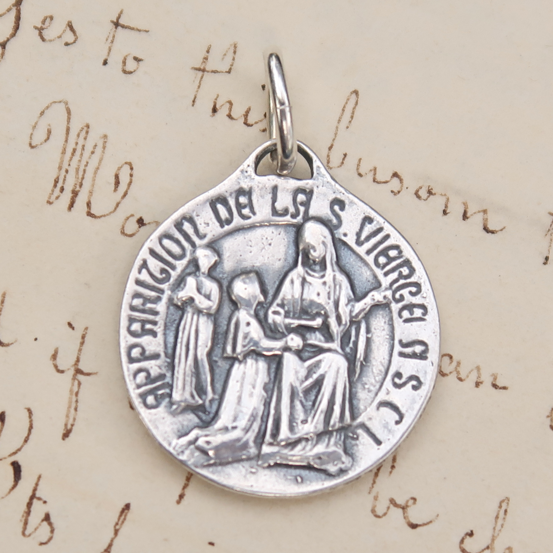 benedict saint medallion in pendants jewelry antique double pendant key medal silver sided on catholic from of item alibaba group accessories aliexpress com
