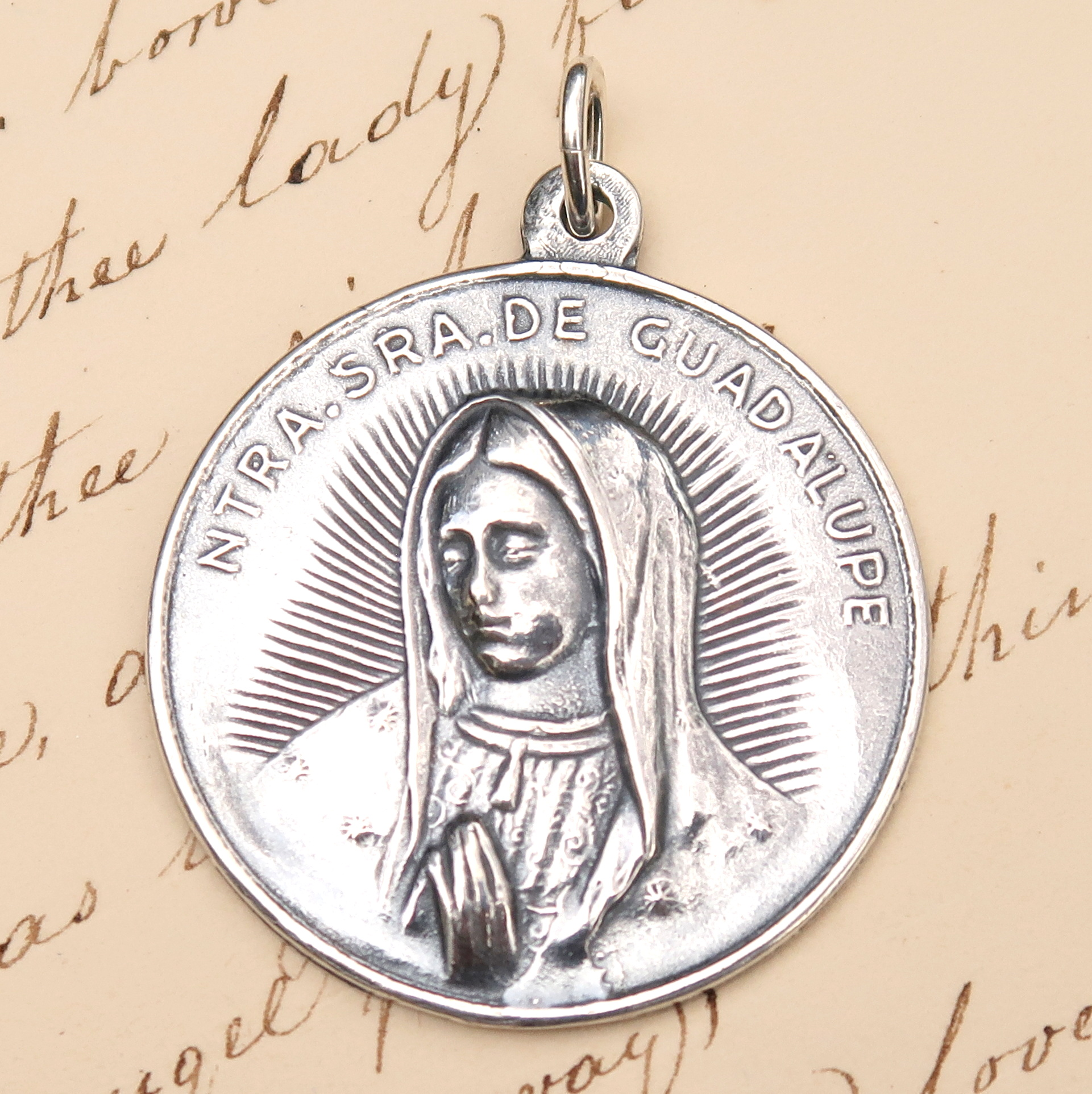 Our Lady of Guadalupe Medal Large Size