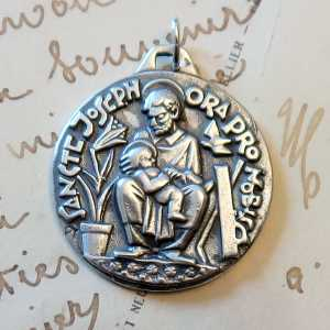 St Joseph Large Medal
