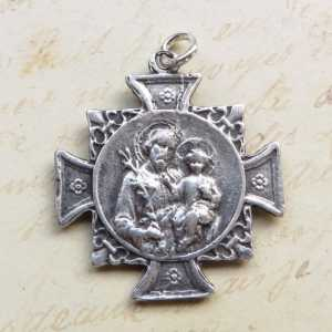 St Joseph Cross Medal
