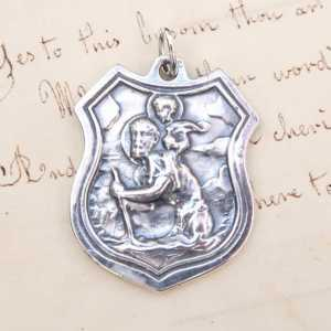 St Christopher's Shield Medal
