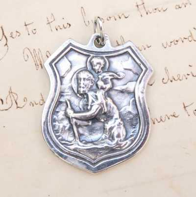 St Christopher's Shield Medal