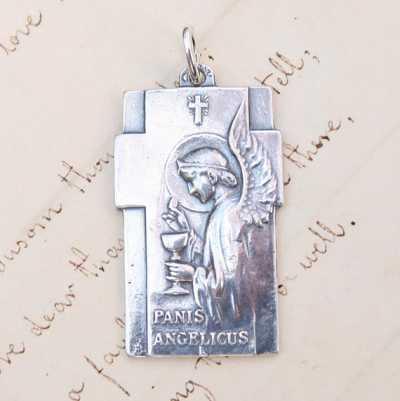 Panis Angelicus Angel Pendant