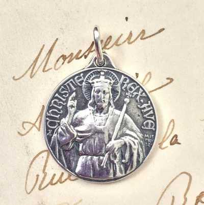 Christ the King Triumphant Medal