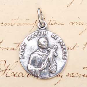 St Martin de Porres Small Medal