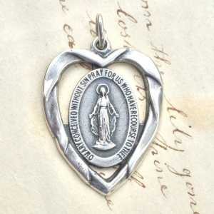 Miraculous Medal Heart