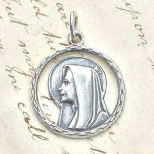 Virgin Mary Halo Medal