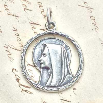 Virgin Mary Halo Medal