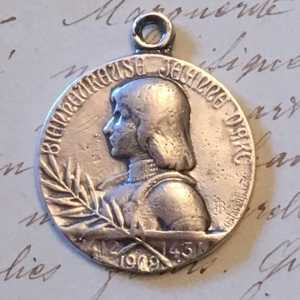 St Joan of Arc Medal