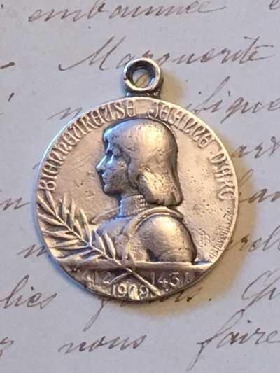 St Joan of Arc Medal