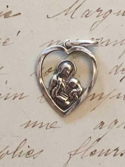 St Anne Heart Medal