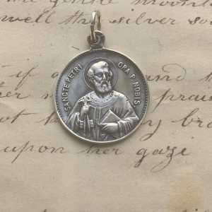 St Peter - Our Lady of Good Counsel Medal